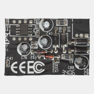 Placa de circuito toallas de cocina