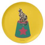 Placa de Cirque de Martzkins Leopard Plato Para Fiesta