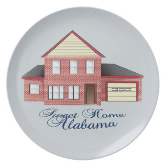 Placa de colector casera dulce de Alabama Plato De Comida
