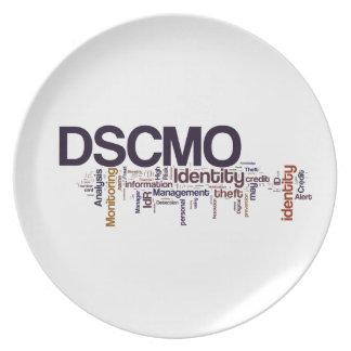 Placa de DSCMO Plato Para Fiesta