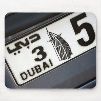 Placa de Dubai Alfombrilla De Raton