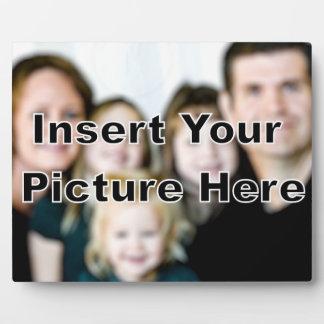 Placa de encargo del panel de la foto