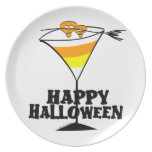 Placa de Halloween Plato De Cena