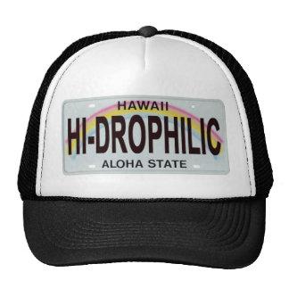placa de Hawaii Gorras