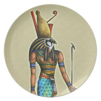 Placa de Horus Platos Para Fiestas
