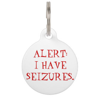 Placa de identificación alerta médica de los asimi placa de mascota