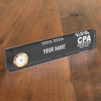 Placa de identificación de encargo del color de CP