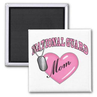 Placa de identificación del corazón N de la mamá d Imanes Para Frigoríficos