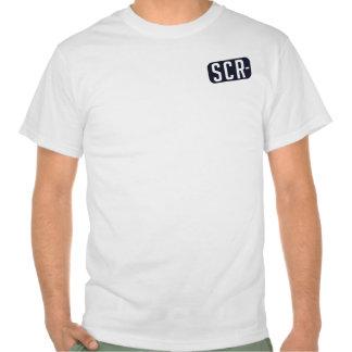 Placa de identificación del SCR + Parte posterior  Camisetas