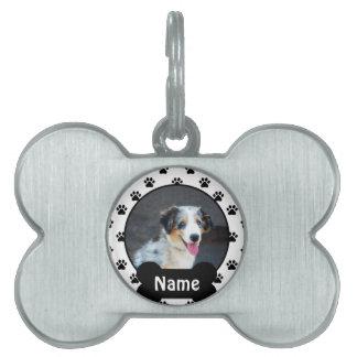 Placa de identificación personalizada para su placa de mascota