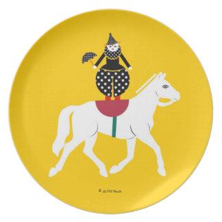 Placa de jinete trasera de Cirque de Martzkins Bar Plato Para Fiesta