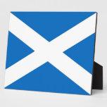 Placa de la bandera de Escocia
