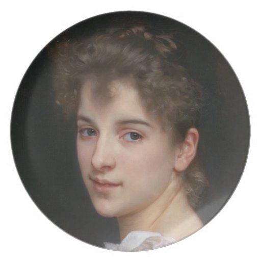 Placa de la choza 1890 de Gabrielle Plato Para Fiesta