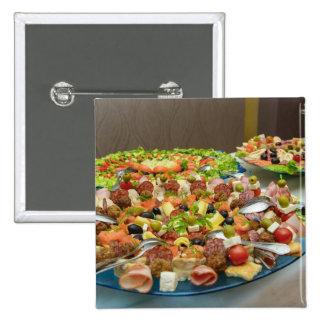 Placa de la comida pins