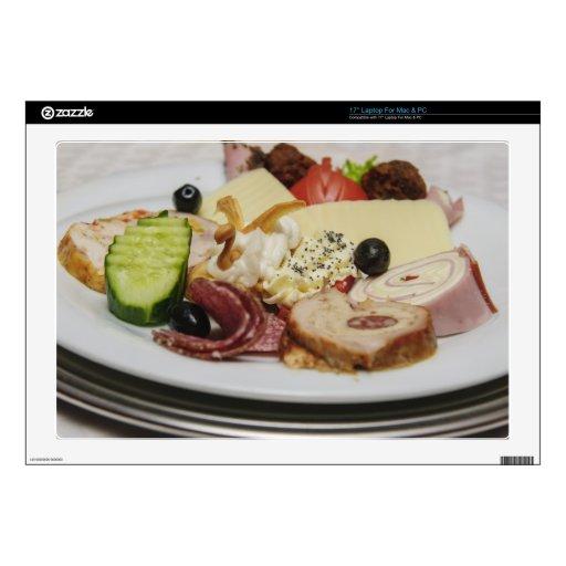 Placa de la comida portátil 43,2cm skins
