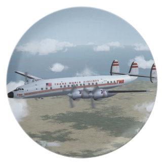 Placa de la constelación de Lockheed Plato