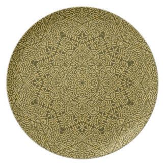 Placa de la elegancia de Alhambra Platos