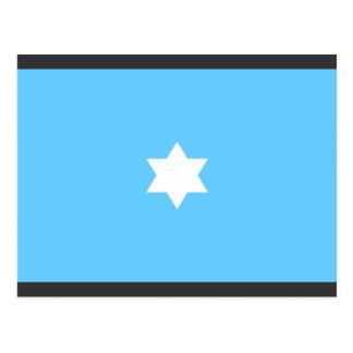 Placa de la estrella del comodoro de aire, Paquist Postal