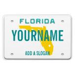 Placa de la Florida (personalizada) Iman Rectangular