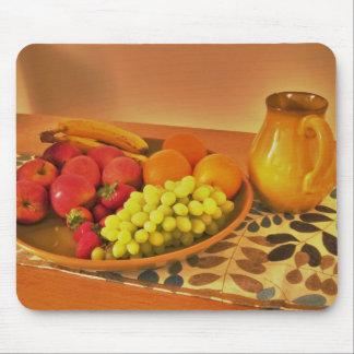 placa de la fruta tapetes de raton