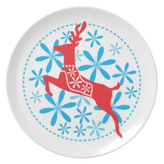 Placa de la galleta de la melamina del día de platos