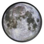 Placa de la Luna Llena Plato