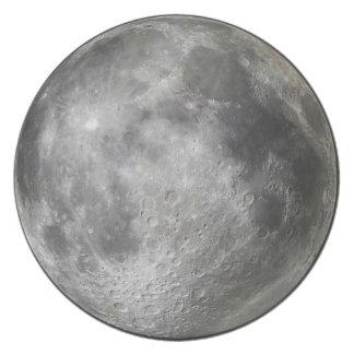 Placa de la Luna Llena.  ¿Por qué?  Para freak Platos