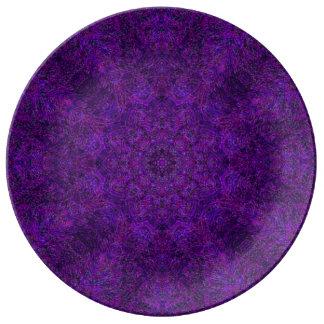Placa de la mandala de la armadura de Starwheel Platos De Cerámica
