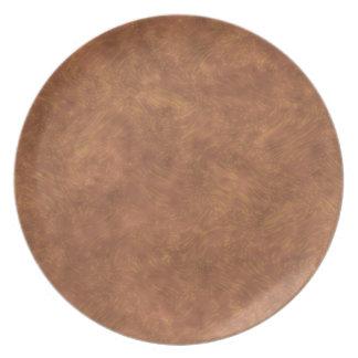 Placa de la melamina - arte de la pared plato