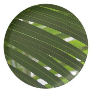 Placa de la melamina de la palma del eje platos