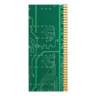 Placa de la memoria de computadora tarjetas publicitarias
