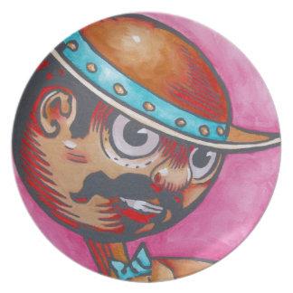 Placa de la onza - Tik-Tok Plato De Cena
