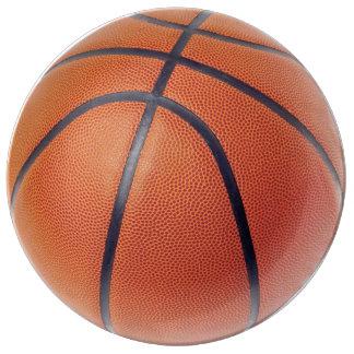 Placa de la porcelana de la bola del baloncesto plato de cerámica