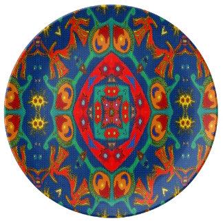 Placa de la porcelana para cenar plato de cerámica