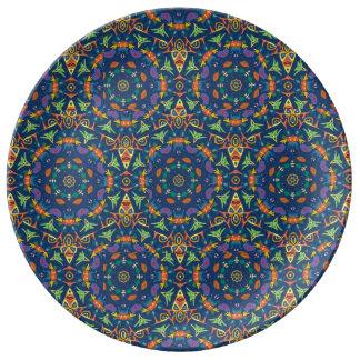 Placa de la porcelana para cenar platos de cerámica