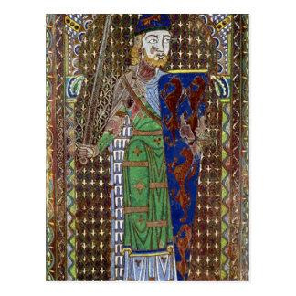Placa de la tumba de Geoffrey Plantagenet Postales