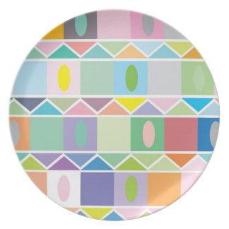 Placa de las casas platos