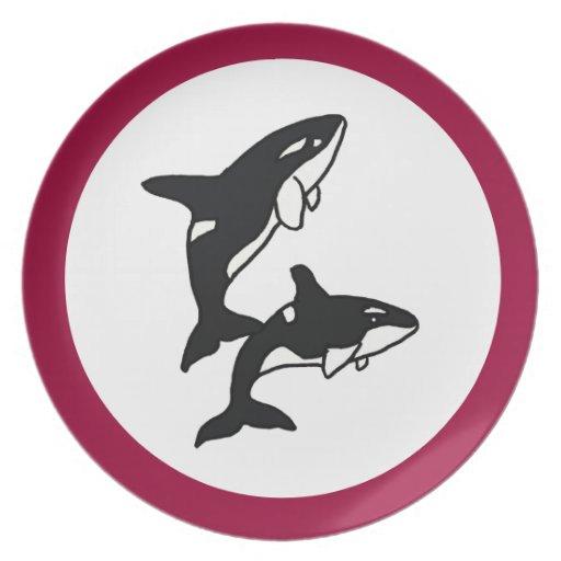 Placa de las orcas de los BU Platos