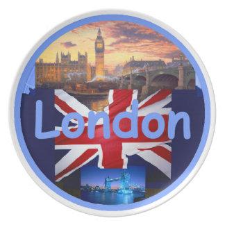 Placa de Londres Platos