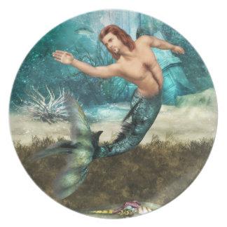 Placa de los Mermen Platos