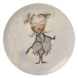 placa de lujo del cabo platos para fiestas