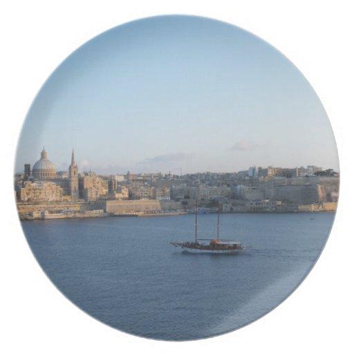 Placa de Malta Platos