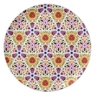 Placa de Marruecos Platos Para Fiestas