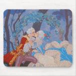 Placa de moda de Mousepad del ~ del beso Alfombrilla De Raton