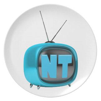 Placa de NanotubeTV Plato Para Fiesta