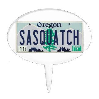 Placa de Oregon Sasquatch