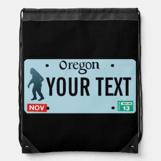 Placa de Oregon Sasquatch Mochila