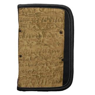 Placa de oro con la inscripción fenicia, de Santa Planificador