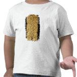 """Placa de oro con la inscripción """"muy larga"""" de camiseta"""