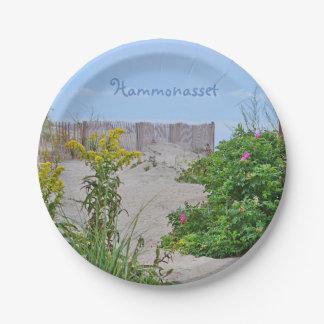 Placa de papel de Hammonasset Plato De Papel De 7 Pulgadas